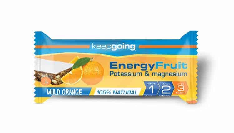 Barrita EnergyFruit Naranja