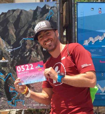 Antonio Arévalo, Trail Sierra Nevada