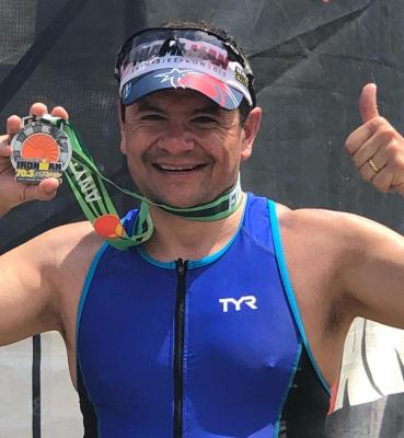 Cesar Angel, 70.3 Florida
