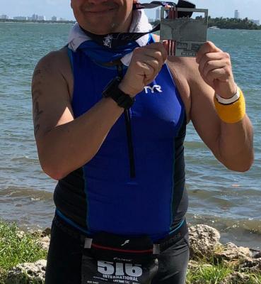 Cesar Angel, Olímpico Miami