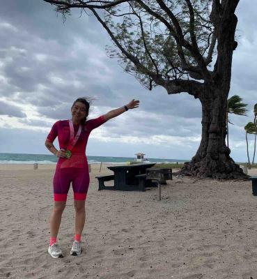 Elena Rouco, Tri Olimpico Fort Lauderdale