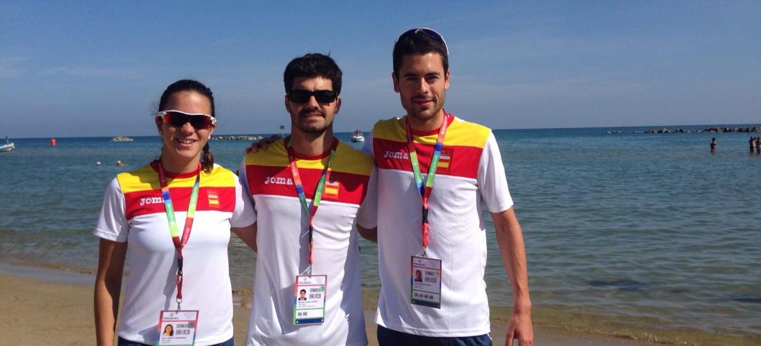 Yo en Juegos del Mediterraneo