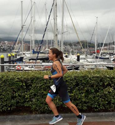 Erika Espinosa, Olímpico Getxo