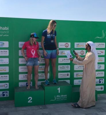 Eva Smolka, Aquabike Abu Dhabi