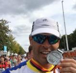 Hugo Calamonte, Maratón Berlín