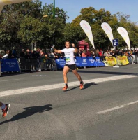 Javier Rosado, Maratón Sevilla