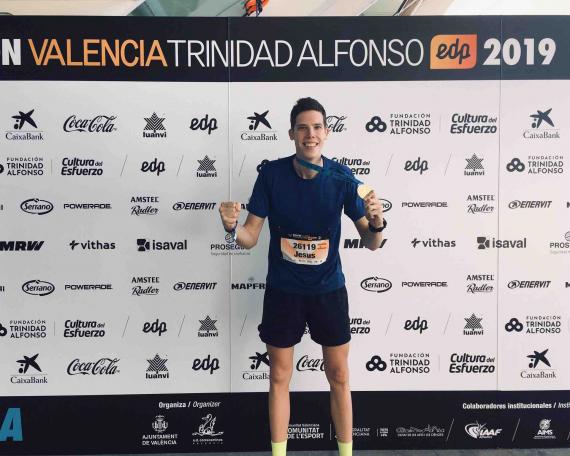 Jesús Jaro, Maratón Valencia