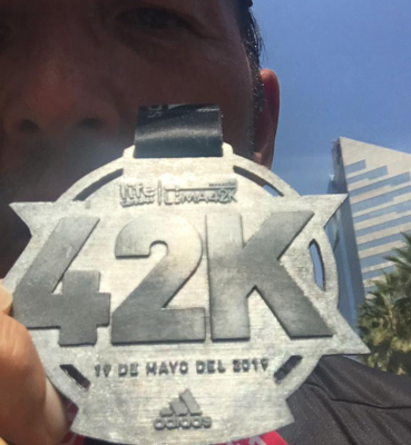 Juan Carlos Martín, Maratón Lima