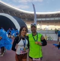 Tomás Pueyo, Maratón Sevilla