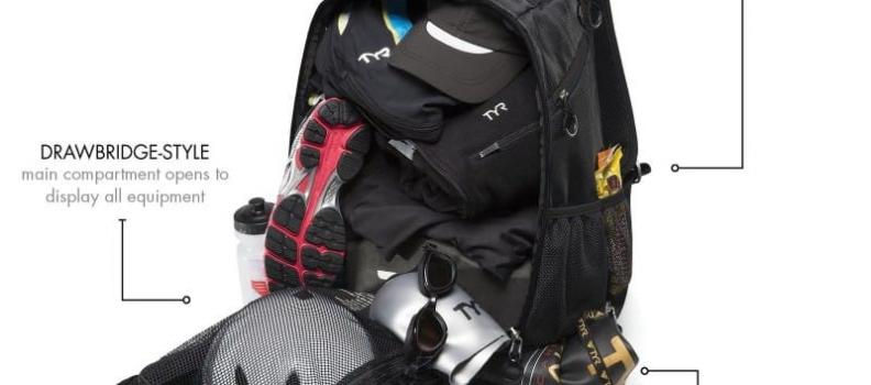 Lo que debe de llevar la mochila del triatleta